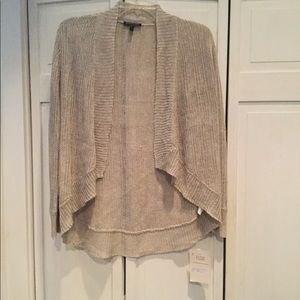 Eileen Fisher linen silk  knit sweater - Size S